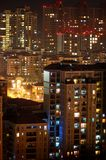City in night Stock Photography