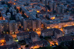City in night Royalty Free Stock Image
