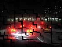City at night Royalty Free Stock Photos