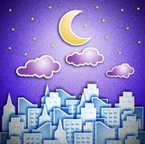 City  night Royalty Free Stock Photography