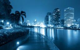 City at night Royalty Free Stock Photo