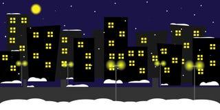 City_night Royalty Free Stock Photo
