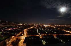 City at night. A hungarian city at night Stock Photo