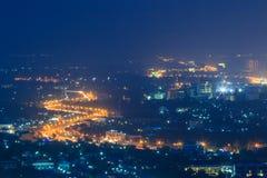 City at night Stock Photography