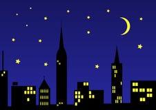 City-night Royalty Free Stock Image
