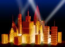 city night Διανυσματική απεικόνιση