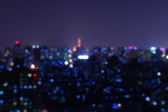 City Night Stock Image