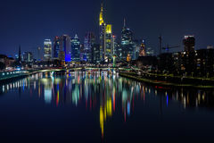 City at night Stock Photography
