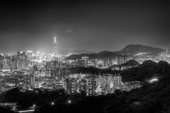 City night Royalty Free Stock Image