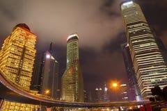 The city at night Royalty Free Stock Image