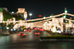 City night blur Royalty Free Stock Photography