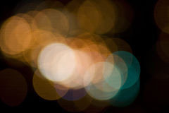 City Night Bokeh Royalty Free Stock Photo