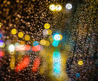 City Night bokeh Royalty Free Stock Images
