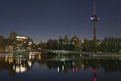 City at night, Cologne (koln) Royalty Free Stock Photography