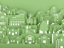 City night concept vector illustration