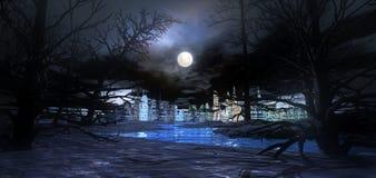 City by night Royalty Free Stock Photo