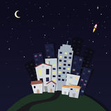 City night Royalty Free Stock Photos