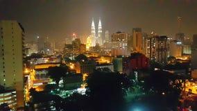 City at night. Kuala lampur at night Stock Photos