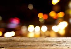 City night light blur Royalty Free Stock Images