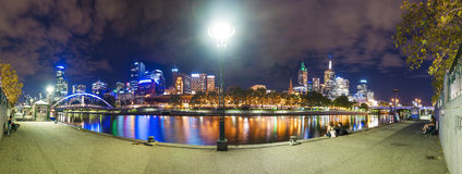 City at night Royalty Free Stock Images