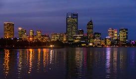City at Night stock photo