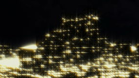 City night-scape flight abstract stock footage