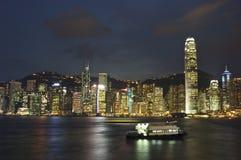 City night scene Stock Image