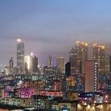 City night scene of Hong Kong Stock Photo