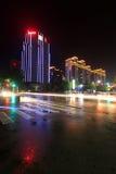 City night scene, north china Stock Photo