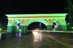 City night scene, north china Royalty Free Stock Photography
