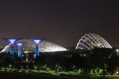 city night singapore Στοκ Εικόνα