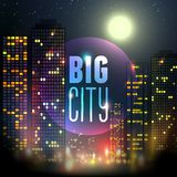 City at night Royalty Free Stock Image