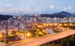 city night taipei Стоковое Изображение RF