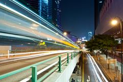 City Night Traffic Royalty Free Stock Photos