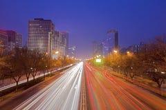 The city at night Stock Photo