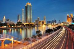 City night view Stock Photo