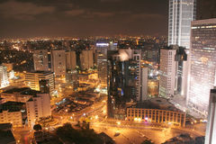 City Night View Royalty Free Stock Image