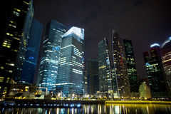 City night view Royalty Free Stock Images