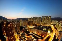 City night view Stock Image