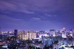 City at Night 11 Stock Image