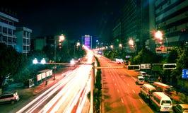 Guiyang city at night Stock Photos
