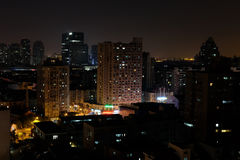 City night view Stock Images