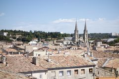 The city of Nimes Stock Image