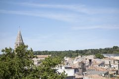 The city of Nimes Stock Photography