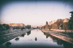 City of Nis riverbank, Nis, Serbia stock images