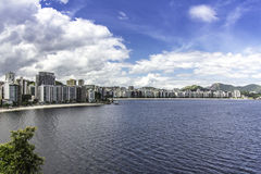 City of Niteroi, Brazil. Against blue sky Royalty Free Stock Photo