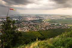 City of Nitra from Above stock photos