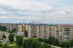 City Nizhny Tagil Royalty Free Stock Photography