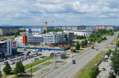 City Nizhny Tagil Royalty Free Stock Photos