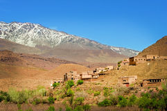 City in the north of Africa, Morocco stock image